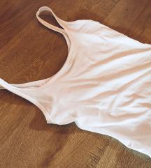 Bershka fehér pántos body 36
