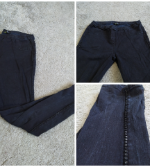 Fekete köves leggings (S)