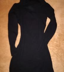 Fekete kötött garbós Pimkie ruha