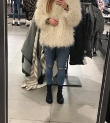 H&M fehér szőrme