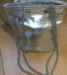 Jean Paul Gaultier ezüst táska