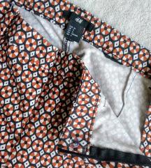 H&M 7/8-os mintás nadrág