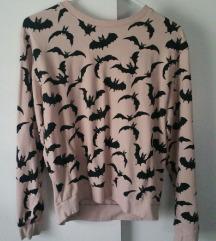 H&M  púderrózsaszín pulcsi