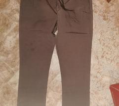 42-es barna elasztikus nadrág