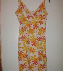 Egyrészes virág mintás nyári ruha 12-es M -es