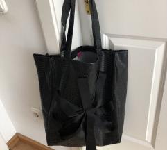 Óriási fekete designer shopper - Dóra Abodi
