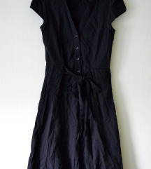 H&M fekete rövid ruha