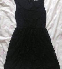2000ft Fekete csipkés ruha