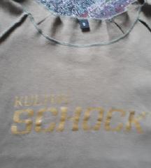 Kulturschock feliratú póló XXS  csere vagy 300 Ft