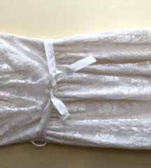 Hófehér csipke koktél ruha