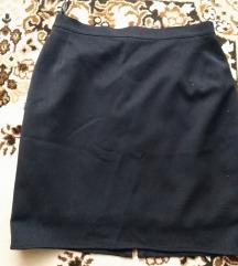 Fekete alkalmi szoknya S-M méret