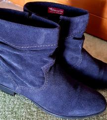 Tamaris velúr boka-cipő