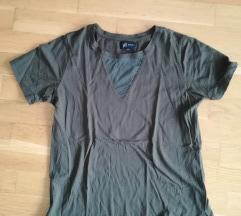 Reserved pamut póló, átlátszó betéttel
