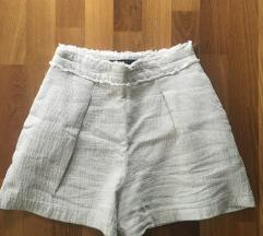 Zara basic len nadrág