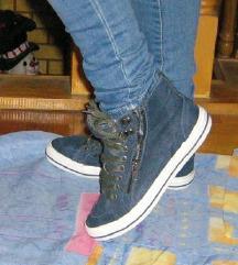 Venice farmer hatású bőrcipő utcai cipő bélelt