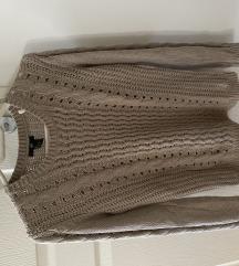 Drapp kötött pulcsi
