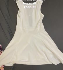 Fehér elegáns nyári ruha
