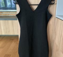 Mango fekete bodycon ruha új címkés