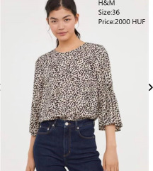 H&M leopard top