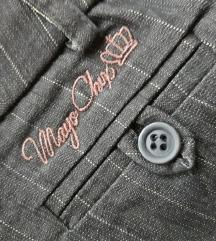Mayo Chix újszerű elegáns fekete nadrág