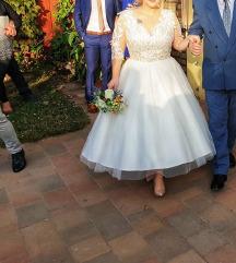 Menyasszonyi ruha (Egyedi) Tea Length