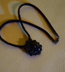 Fekete gyöngyös nyaklánc