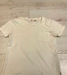 Levis rövidujjú fehér póló