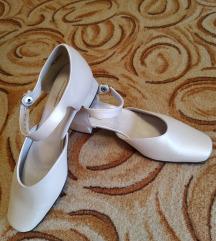 Alkalmi, menyasszonyi bőr cipő
