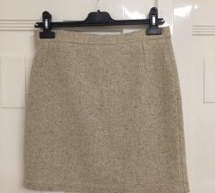 Vintage, gyapjú keverék, M-es miniszoknya