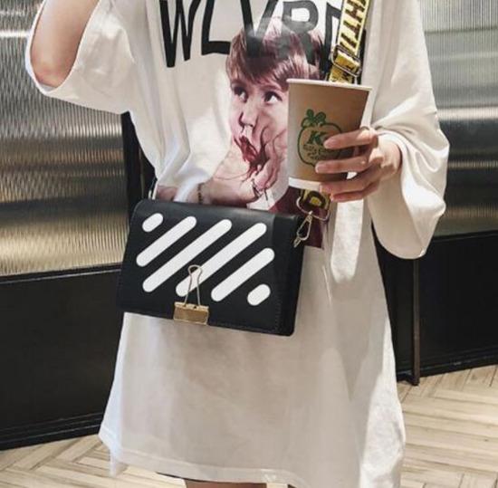 Off White Mini Flap táska