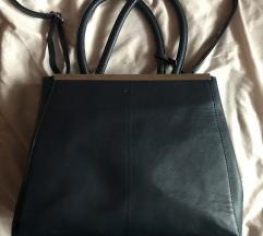 Állítható alakú sötétkék táska