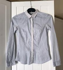 Elegáns irodai/üzleti H&M kék csíkos ing