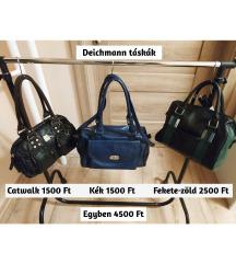 Deichmann táskák egybe vagy külön