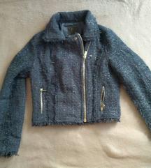 Kék átmeneti kabát