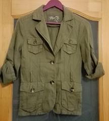 Khaki kabát