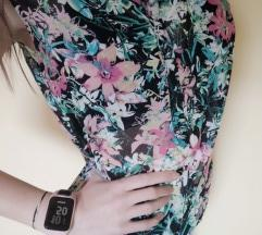 Virágos vékony ujjatlan ing