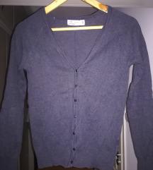 Szürke gombos női Zara pulcsi