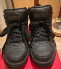 36-os fekete PUMA magasszárú sportcipő, sneaker