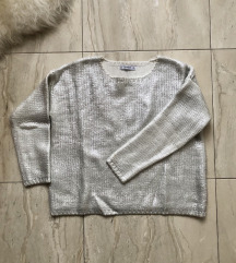 Mango ezüst pulcsi S