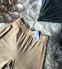 H&M bordázott culotte nadrág