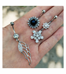 Köldök piercingek