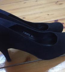 36 os fekete tűsarkú alkalmi cipő , Baja gardrobcsere.hu