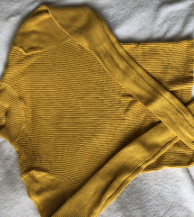 sárga hosszú ujjú garbó