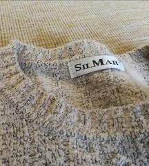 SIL MAR luxus gyapjú pulcsi