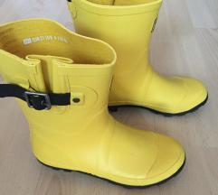 Új sárga női gumicsizma 37