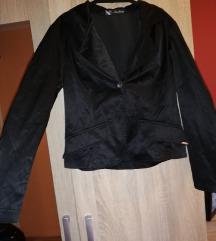 X factory fekete blézer, kabát
