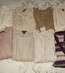 Kötött és horgolt pulóverek
