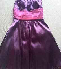 Koszorúslány ruha lila
