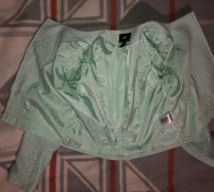 H&M zöld női felső blézer
