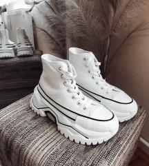 Magasszárú platformos tornacipő